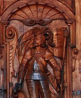 Door-carvings